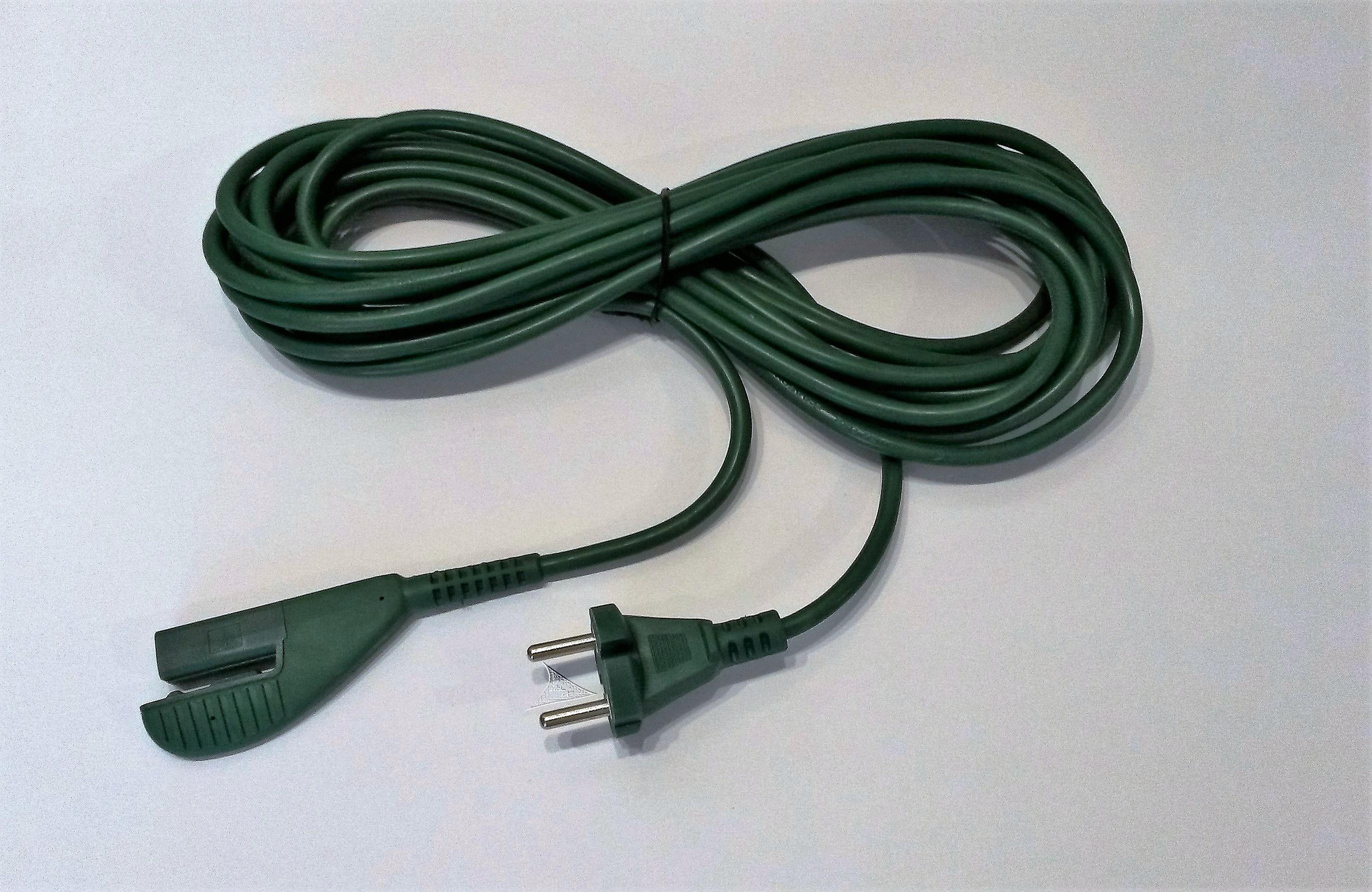 Netz-Anschlusskabel 10m geeignet für Vorwerk Kobold 135//136
